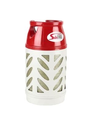 Tank-Flasche LPG  in drei Größen erhältlich, klein, mittel und groß
